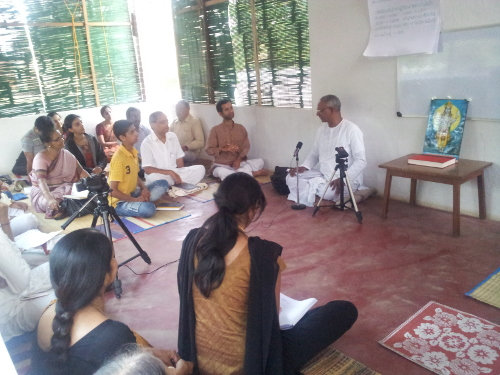 Talk on Ayurvda & Yogashastra