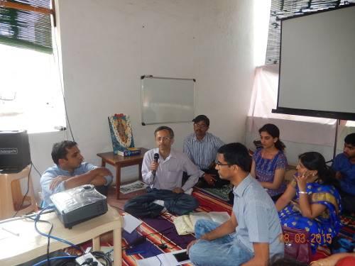 Tadvidya sambhasha on HTN Mar 2015