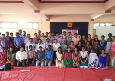 Tadvidya sambhasha on CKD Aug 2015